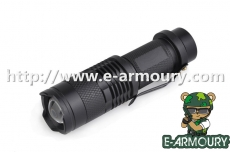 Telescopic Zoom Flashlight in Mini Style
